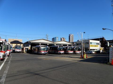 東急バス不動前営業所